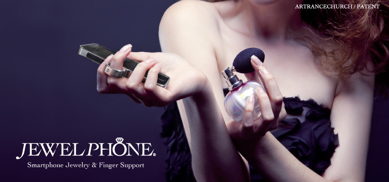 Smartphone Jewelry & Finger Support